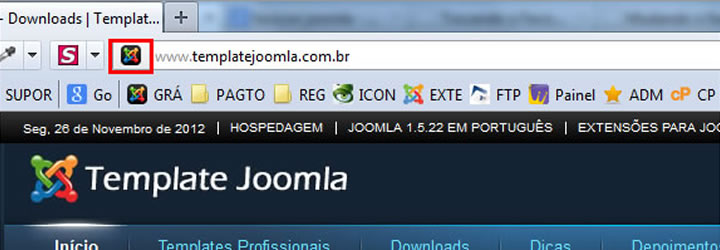 alterar favicon joomla