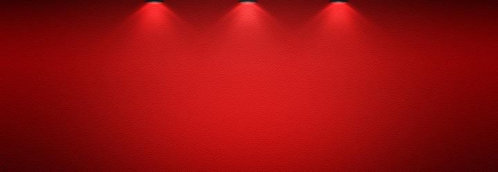 Layout de sites vermelho