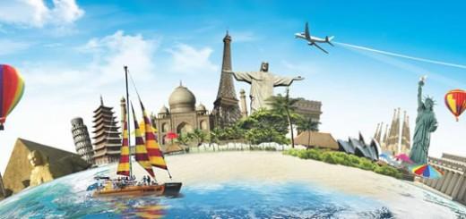 template agencia de viagem turismo